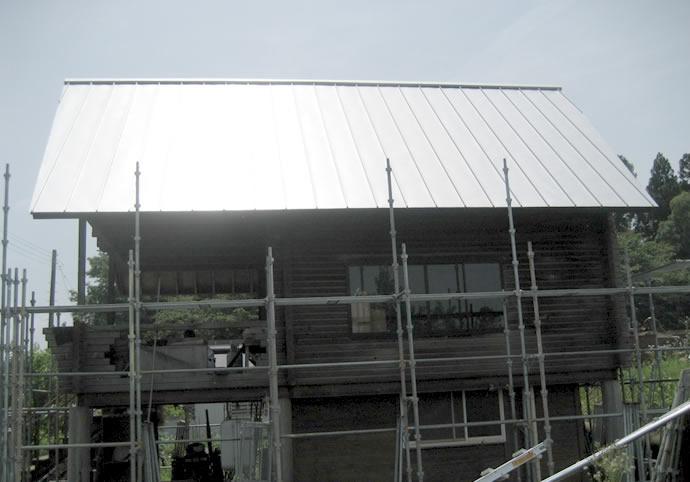 新潟県三条市 屋根の張替え写真