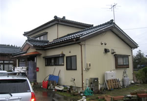 新潟県長岡市 リフォーム外装張替え工事