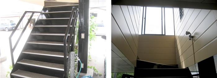 階段 内装 塗装画像