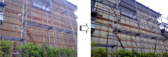 新潟県長岡市 外壁張替工事
