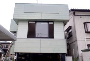 三条市 事務所屋根 塗装工事画像